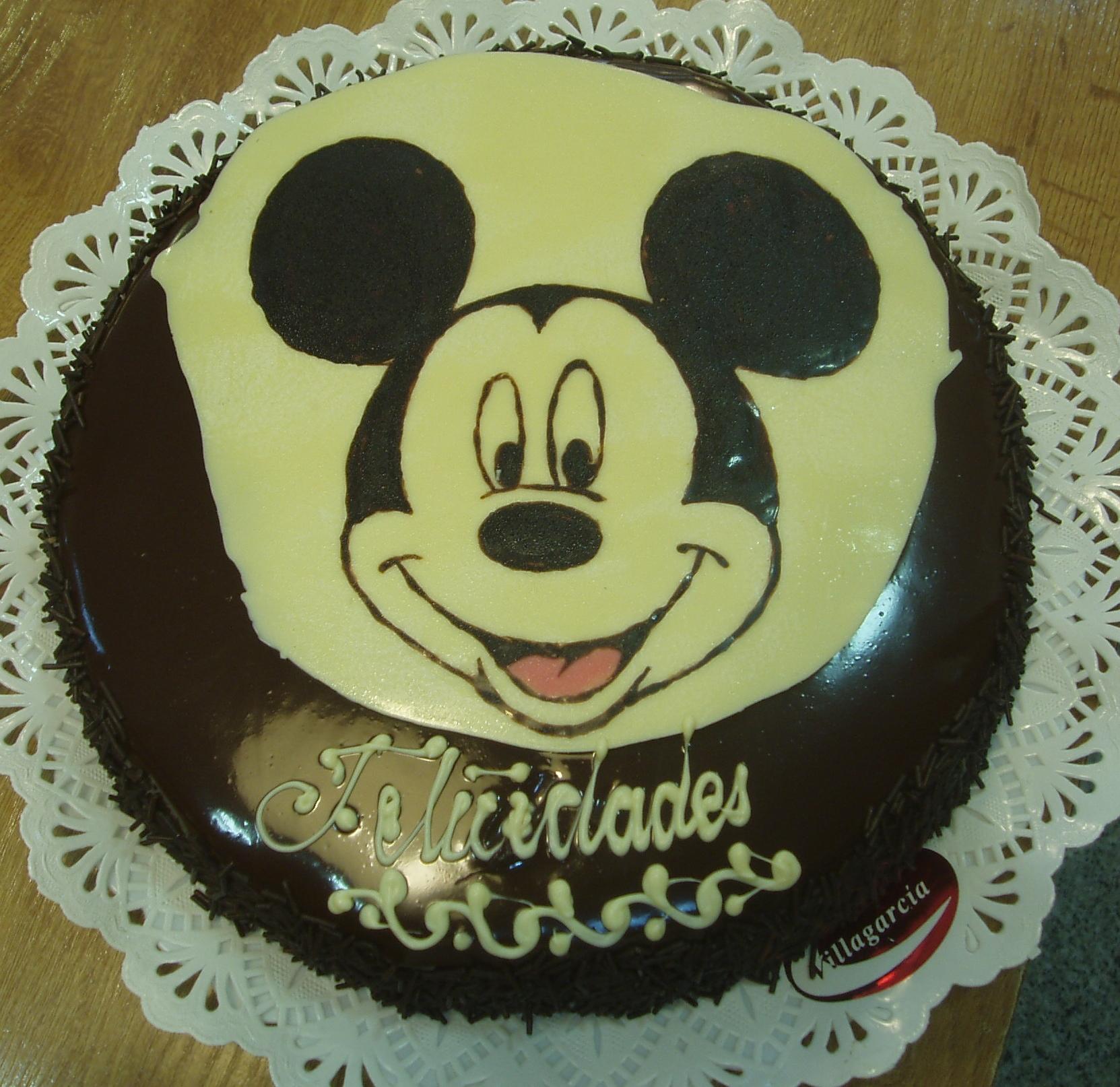 Tarta personalizada Mickie