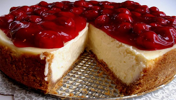 tarta de queso artesanal
